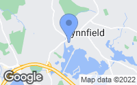 Map of Lynnfield, MA