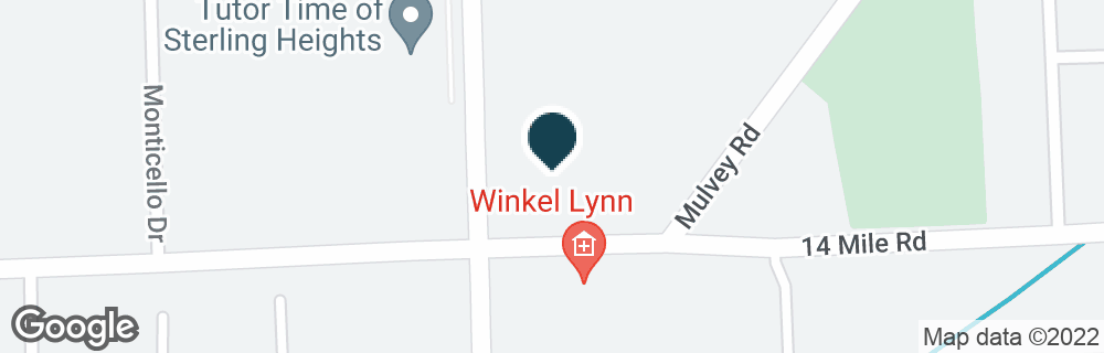 Google Map of15267 E 14 MILE RD