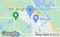 Map of Brighton, MI