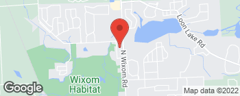 Map of 1545 N Wixom Rd in Wixom