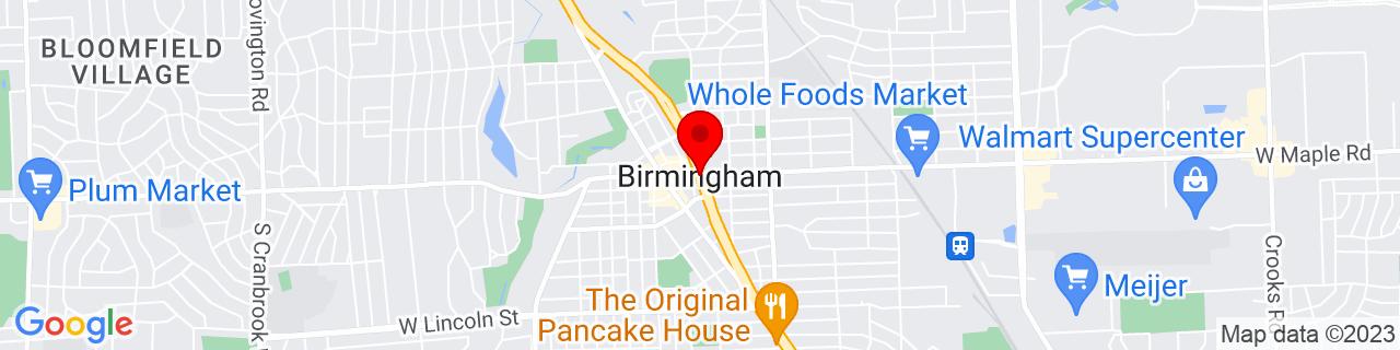 Google Map of 42.5467012, -83.21131919999999