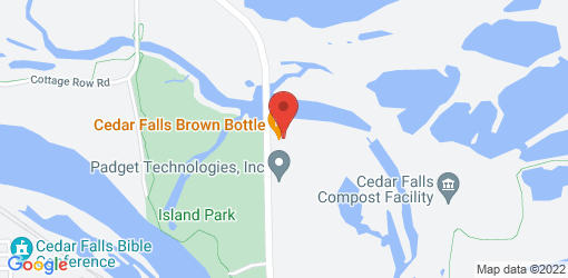 Directions to Cedar Falls Brown Bottle