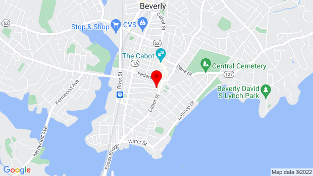 Google Map of 9 Wallis, Beverly, MA 01915
