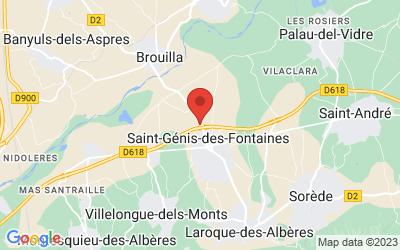 13 Route de Brouilla, 66740 Saint-Génis-des-Fontaines, France