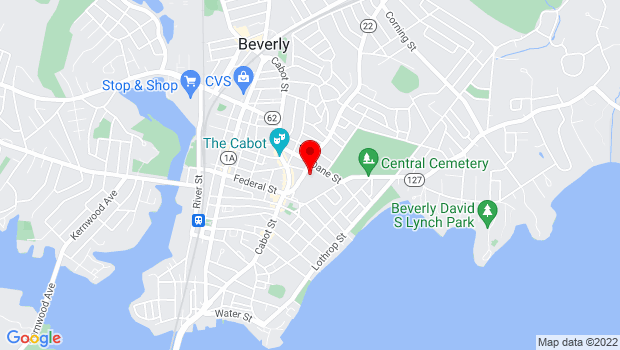 Google Map of 23 Essex St, Beverly, MA 01915