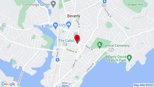 Google Map of 286 Cabot Street, Beverly, MA 01915