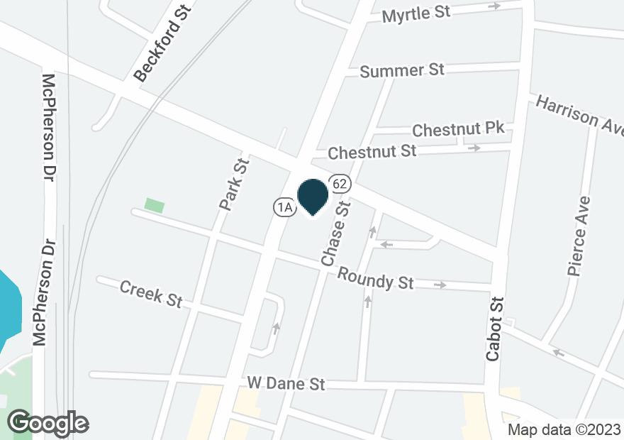 Google Map of54 ELLIOTT ST