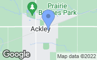 Map of Ackley, IA