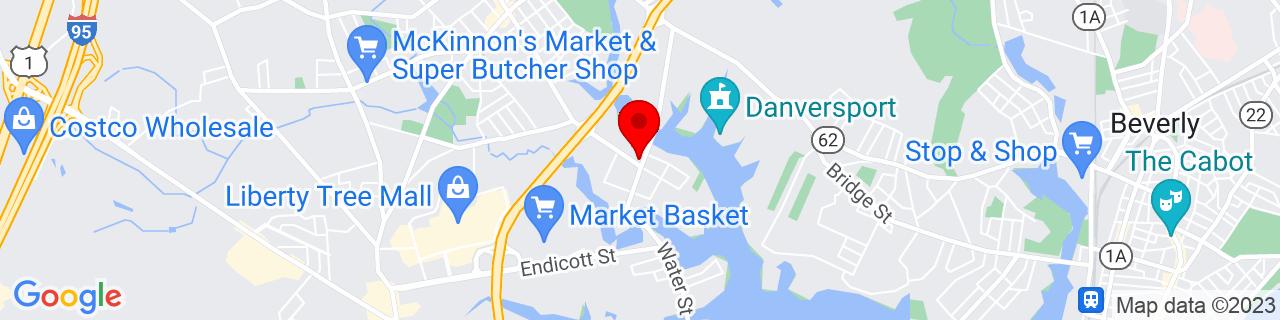 Google Map of 42.556126, -70.924348