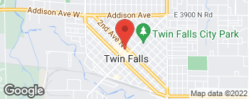 Mapa de 155 2nd Ave N en Twin Falls