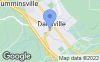 Map of Dansville, NY