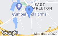 Map of Templeton, MA