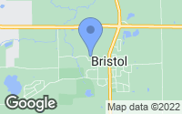 Map of Bristol, WI