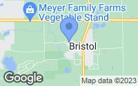 Map of Bristol, WI