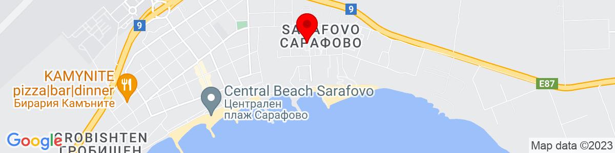 Google Map of 42.560054, 27.531444