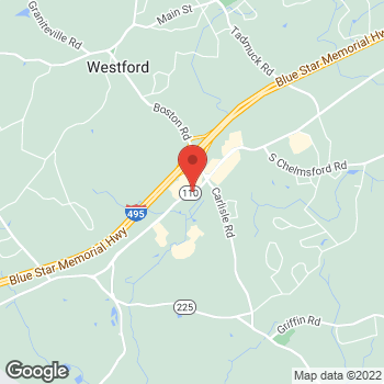 Map of Michael Connelly, MD at 198 Littleton Road, Westford, MA 01886