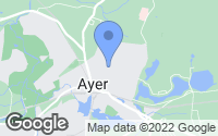 Map of Ayer, MA