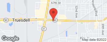 Map of 5727 75th St in Kenosha