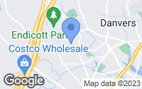 Map of Danvers, MA