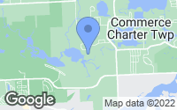 Map of Commerce Charter Township, MI