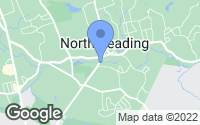 Map of North Reading, MA