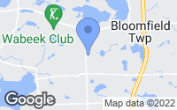 Map of Bloomfield Township, MI
