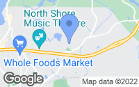 Map of Beverly, MA