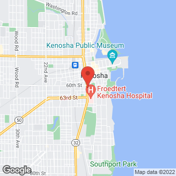 Map of Check `n Go at 6019 Sheridan Road, Kenosha, WI 53143