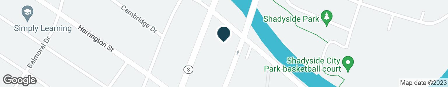 Google Map of1045 S GRATIOT AVE