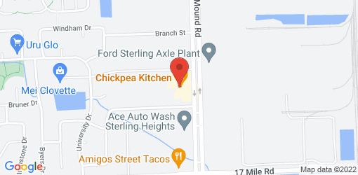 Directions to Chickpea Kitchen