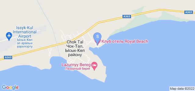 Location of Royal Beach on map