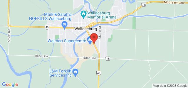 Sobeys Wallaceburg Map
