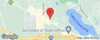 Map of 4201 E Grand River Ave in Howell
