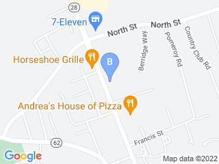 Map of Friendly Paws LLC Dog Boarding options in North Reading | Boarding