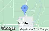 Map of Nunda, NY
