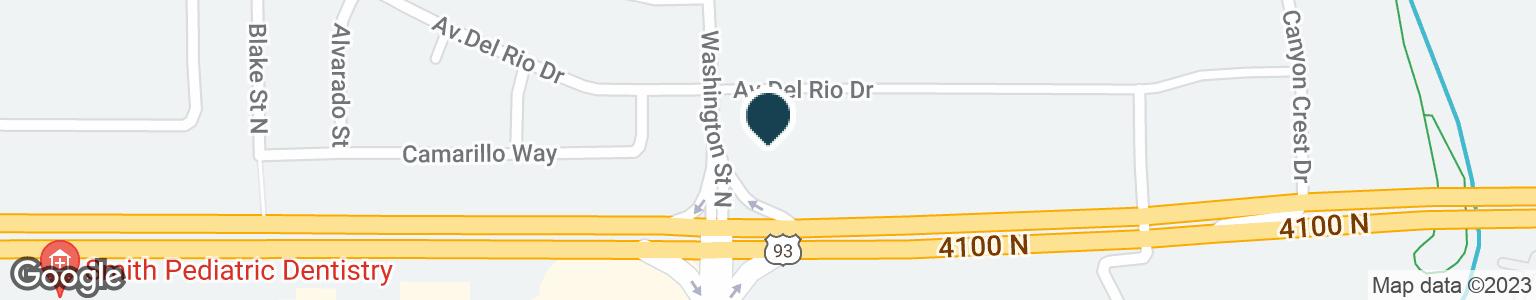 Google Map of1732 WASHINGTON ST N