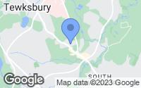 Map of Tewksbury, MA