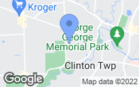 Map of Clinton Township, MI