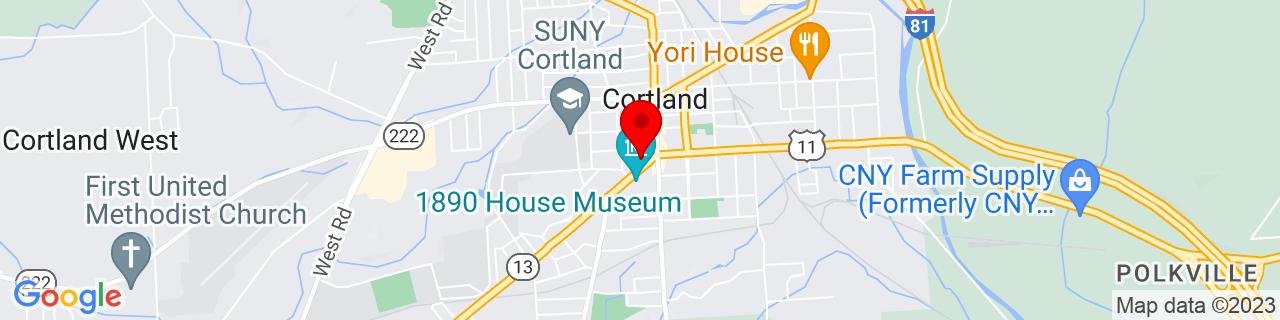 Google Map of 42.597296, -76.181709
