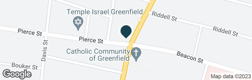 Google Map of5 PIERCE ST