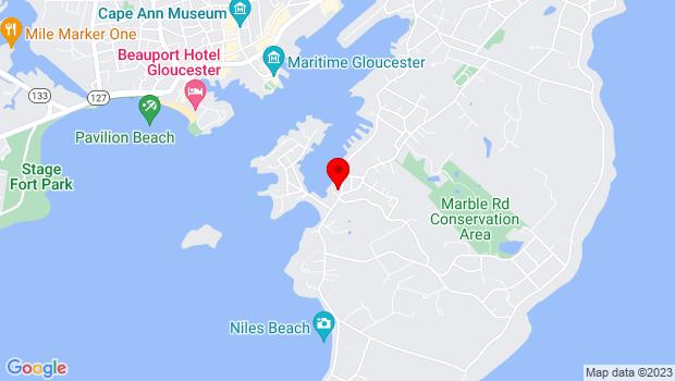 Google Map of 267 E Main St., Gloucester, MA 01930
