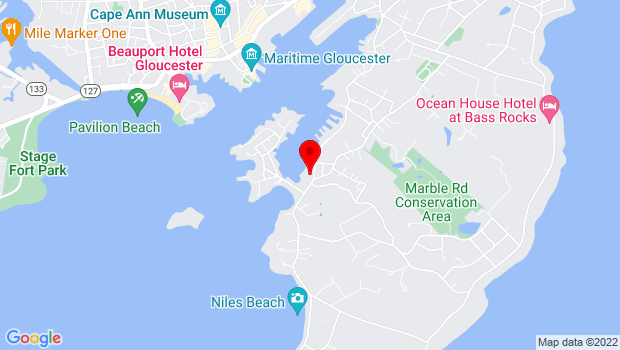 Google Map of 267 East Main Street, Gloucester, MA 01930