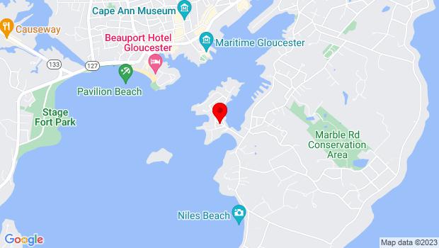 Google Map of 6 Wonson Street, Gloucester, MA 01930