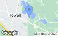 Map of Howell, MI