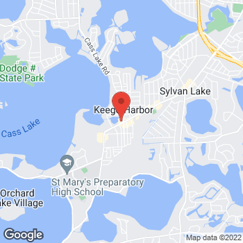 Map of Rite Aid at 3000 Orchard Lake Road, Keego Harbor, MI 48320