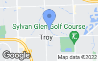 Map of Troy, MI