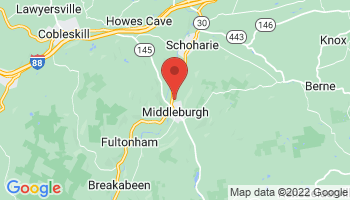 Map of Middleburgh