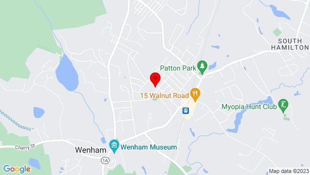 Google Map of 14 Union Street, South Hamilton, MA 01982