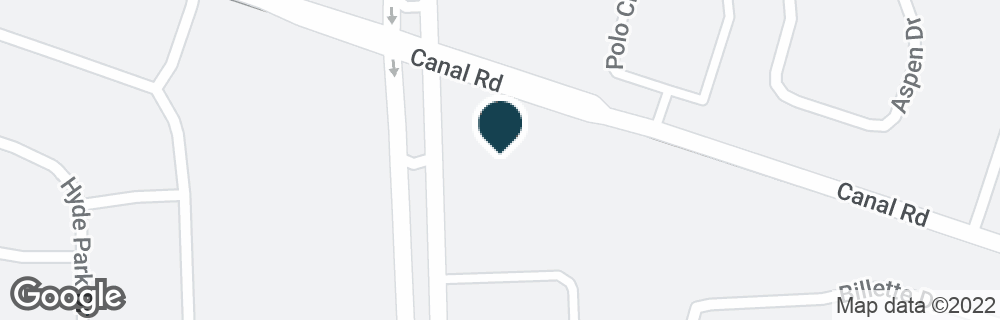 Google Map of13700 CANAL RD