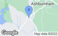 Map of Ashburnham, MA